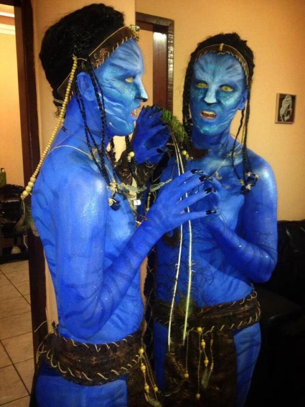 """Maquiagem vencedora """"Avatar"""" (Ederson Oliveira)"""